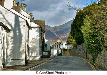 Keswick Street - A street in the English Lake District town...