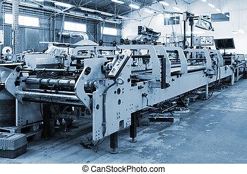 repair of old printing equipment in the printing