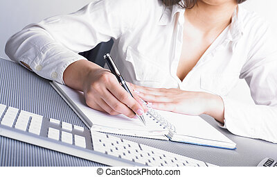 Office Assistant writing Schedule - Office Assistant in...