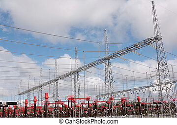 High Voltage Station