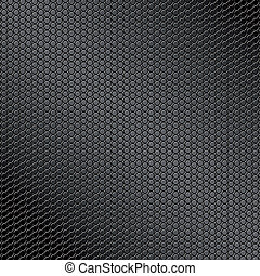 vector illustration of a metal texture made with circles