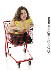 Tween Shopping Cart Rider