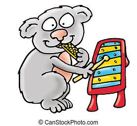 Koala, bánik