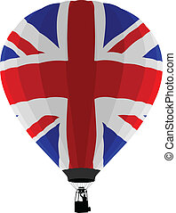 Air Balloon, UK Flag