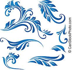 DESIGN ELEMENTS - Illustration drawing of design elements