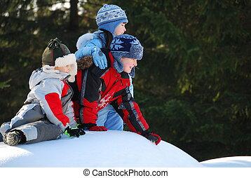 Fun in Snow