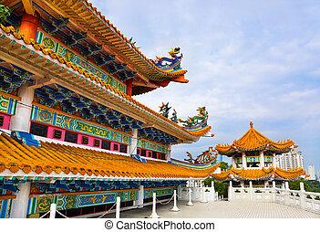 Thean, Hou, templo, Kuala, lumpur, malasia