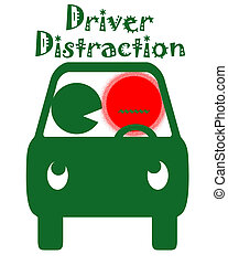 driver distraction - driver