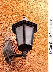 Outdoor old lantern