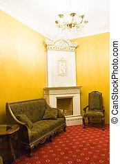 Luxury indoor interior