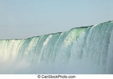 Niagra Falls, Niagra, Canada - The powerfull Waterfall -...