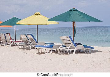 tropical beach of Mauritius