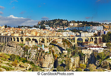 Constantine, Algeria - Constantine, the third largest city...