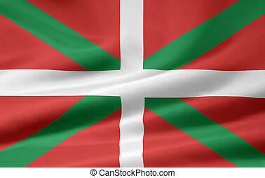 Flag of the Basque Country - Spain - High resolution flag of...