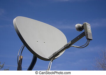 Satellite Dish mounted