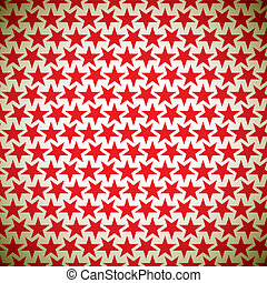 Red star Background - Abstract seamless background with tile...