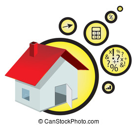 for sale house icon