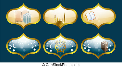 islamic iicon set