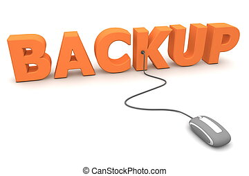 Browse the Orange Backup - Grey Mouse - modern grey computer...