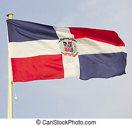 Dominican Republic flag - The national flag of the Dominican...