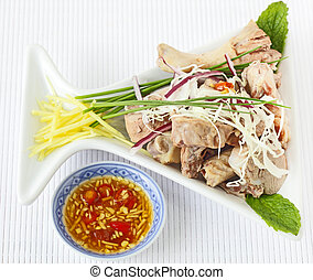 Duck and ginger fish sauce, Vietnamese cuisine