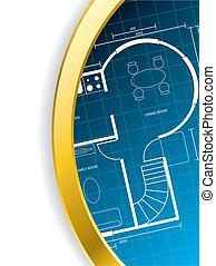 Brochure design with floorplan - Cool brochure design with...