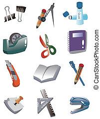 cartoon Stationery icon