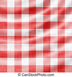 wavy red picnic cloth - digitally made wavy red picnic cloth...