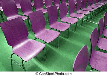 sillas, vacío