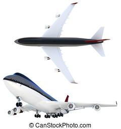 3d passanger plane collection - 3d passanger collection...