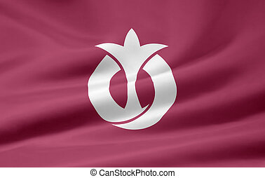 japón, bandera,  -,  aichi