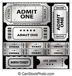 vector ticket