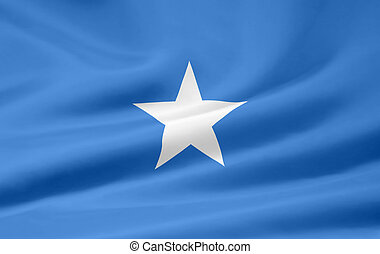 Flag of Somalia - High resolution flag of Somalia