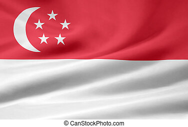 Flag of Singapore - High resolution flag of Singapore