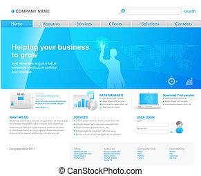 2011 modern website template