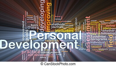 Personal development background concept - Background concept...