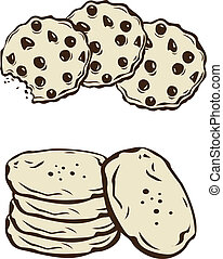 Cookies - Stock Vector Illustration: Cookies