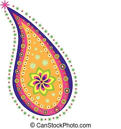 Paisley pattern - Stock Vector Illustration:Indian pattern...