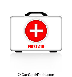 First Aid Kit - First aid kit medical case illustration...