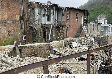 decayed building in pocahontas - decayed buildings in...
