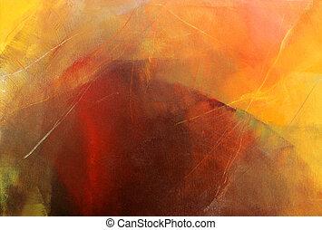 acrylic glazes on canvas - thin acrylic glazes on canvas