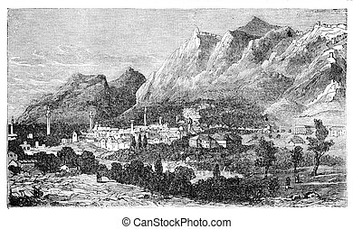 Ancient city of Antioch on the Orontes, currently known as...