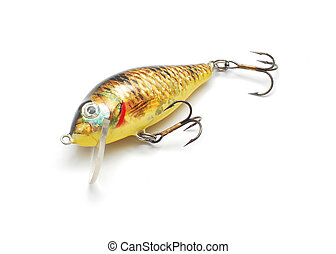 fishing lure isolated