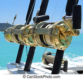 Fishing reels - deep sea fishing reels