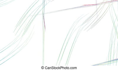 Comet. With alpha channel. - HD abstract fractal art...