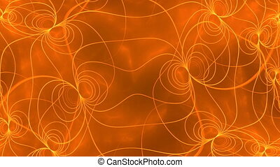 orange seamless looping background d6185C_L