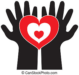 Vector Hand with Love