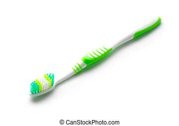 Toothbrush isolated on white
