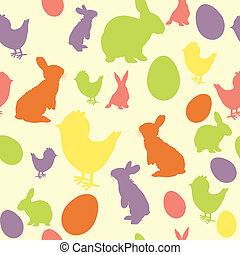 Easter background - Vector illustration of Easter background...