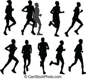マラソン, ランナー